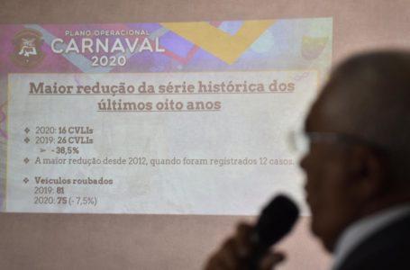 Carnaval 2020 no RN teve redução de 38,5% nos assassinatos