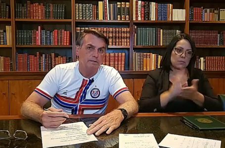 Bolsonaro pede serenidade e afirma que respeita os Poderes. Assista