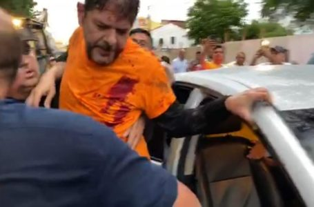 Ex-governador é baleado durante protesto no Ceará (VÍDEO)