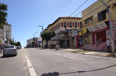 Lojistas da Cidade Alta também reabrirão na segunda-feira