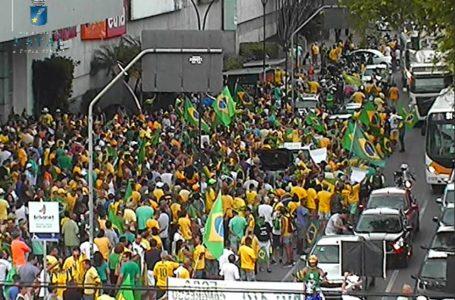 Natal tem manifestação pró-governo mesmo após pedido de Bolsonaro