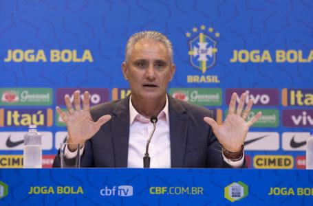 Técnico Tite divulga lista de convocados para os dois primeiros jogos das Eliminatórias da Copa de 2022
