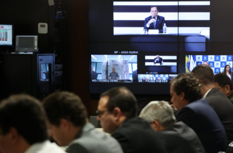 Coronavírus: João Doria fala ao vivo após desentendimento com Bolsonaro