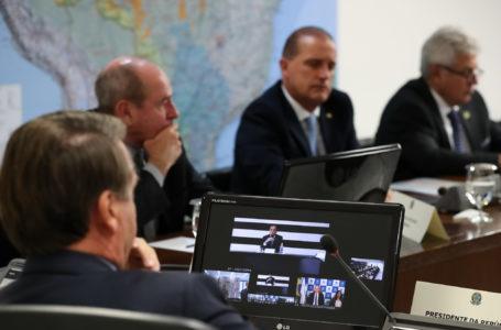 Coronavírus: Bolsonaro e Doria batem boca em reunião. Assista
