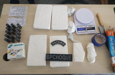 Polícia apreende quase 5kg de cocaína na Zona Leste de Natal