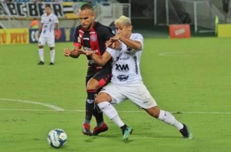 ABC empata com Vitória, na Arena das Dunas, e complica sua situação na Copa do Nor