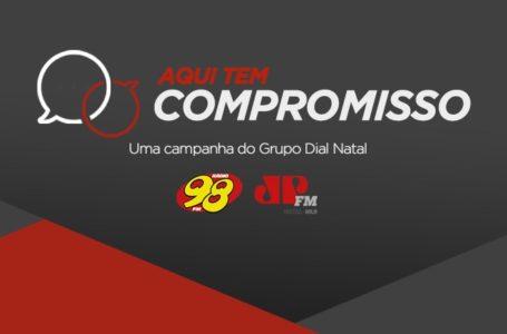 """98 FM Natal lança campanha """"Aqui tem compromisso"""""""