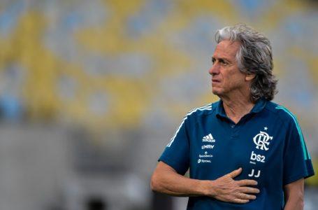Técnico do Flamengo, Jorge Jesus, testa positivo para coronavírus e aguarda resultado da contraprova