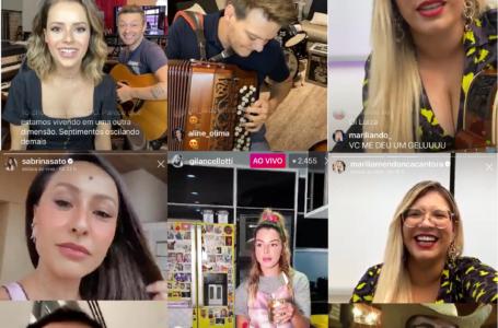 """Quarentena: Artistas fazem """"shows"""" de casa, ao vivo, com transmissão pela internet"""