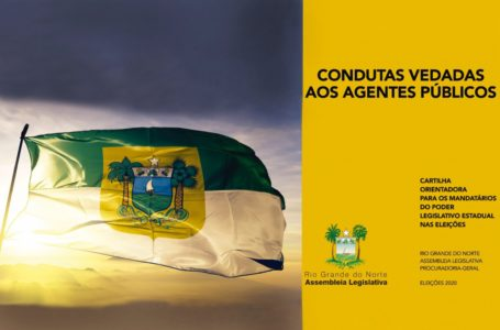 Assembleia Legislativa do RN lança cartilha digital sobre eleições 2020
