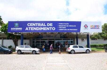 Detran amplia atendimentos presenciais em quatro municípios do RN