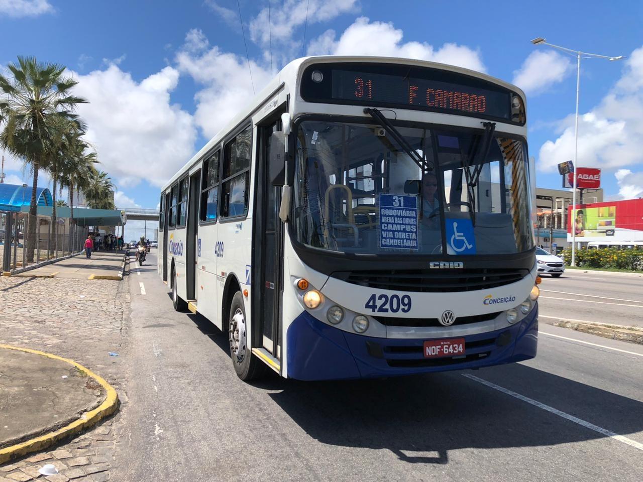 Justiça determina volta de 100% da frota de ônibus de Natal