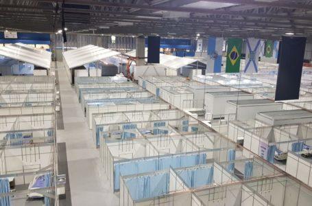 Prefeitura do Rio inaugura leitos no hospital de campanha no Riocentro