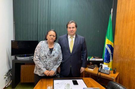 Governadores defendem Rodrigo Maia e Alcolumbre em carta