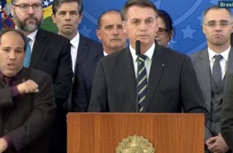 """Bolsonaro ataca Moro: """"Tem compromisso com o próprio ego"""""""