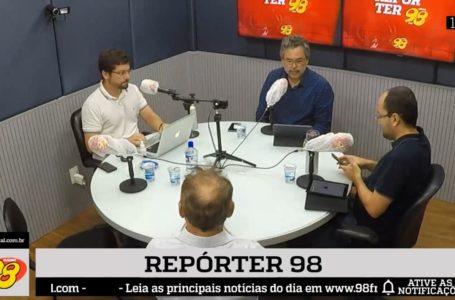 Repórter 98: confira o programa completo desta sexta-feira (03)