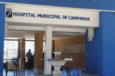 Hospital de Campanha de Natal começa receber pacientes