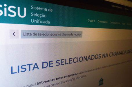 MEC calculará nota de corte do Sisu pelo modelo vigente até 2019