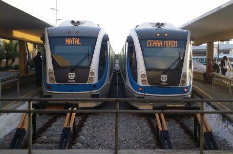 Trens urbanos de Natal não vão funcionar nesta segunda-feira (29)