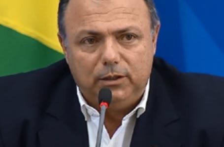 Eduardo Pazuello, ministro da Saúde, está com Covid-19