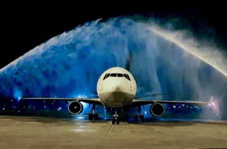 Aeroporto do Recife comemora estreia de voos da Lufthansa que deixaram o RN