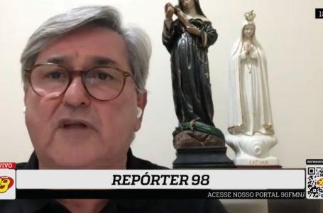 Repórter 98: Deputado revela falta de articulação do Governo e pede humildade a Fátima por previdência