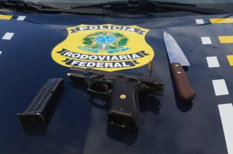 PRF prende dois homens por tentativa de assalto em São José do Mipibu