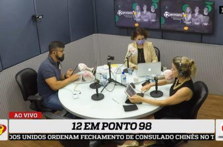 12 em Ponto 98: deputados cobram presença da governadora Fátima no debate da Reforma da Previdência e projeto segue sem votação na ALRN