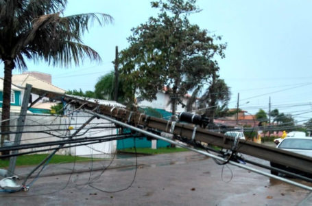 Novo ciclone deixa estragos no Rio Grande do Sul