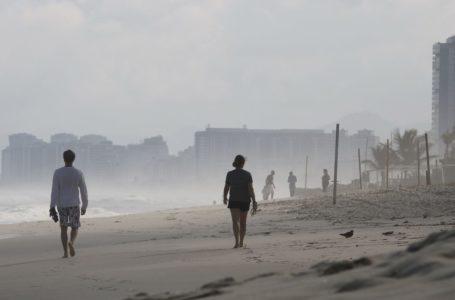 Ciclone do sul do país influencia clima do Rio e vai para o oceano