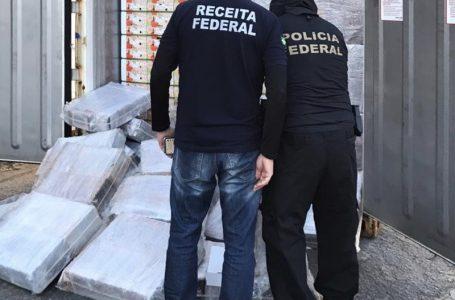Operação encontra 703kg de cocaína no Porto de Natal; apreensão foi feita em contêiner de mangas que seguiria para a Europa