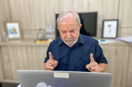 Segundo Lula, PT pode abrir mão de disputar Presidência em 2022