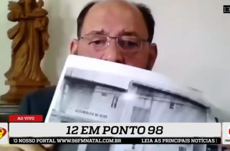 12 em Ponto 98: deputado denuncia irregularidade em aluguel milionário de ambulâncias pelo Governo do RN