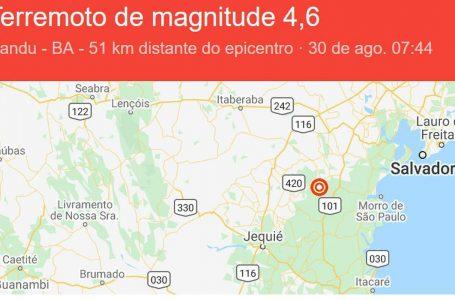 Novos tremores de terra são registrados no interior da Bahia