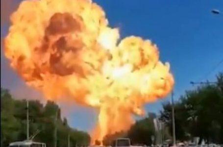 Explosão em posto de combustíveis na Rússia deixa feridos