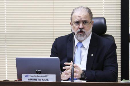 Senadores acionam Corregedoria Nacional do MP contra Augusto Aras