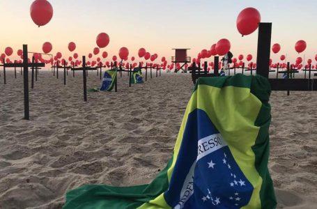 Brasil chega à marca de 100 mil mortes por Covid-19