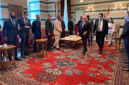 Michel Temer se encontra com primeiro-ministro interino do Líbano