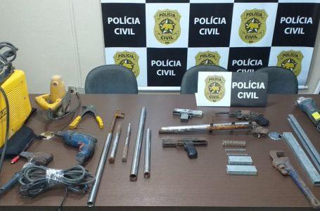 Suspeito de fabricar armas de fogo para grupo criminoso é preso em Macaíba