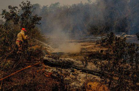 Governo libera R$ 10,1 milhões para combate a incêndio no Pantanal