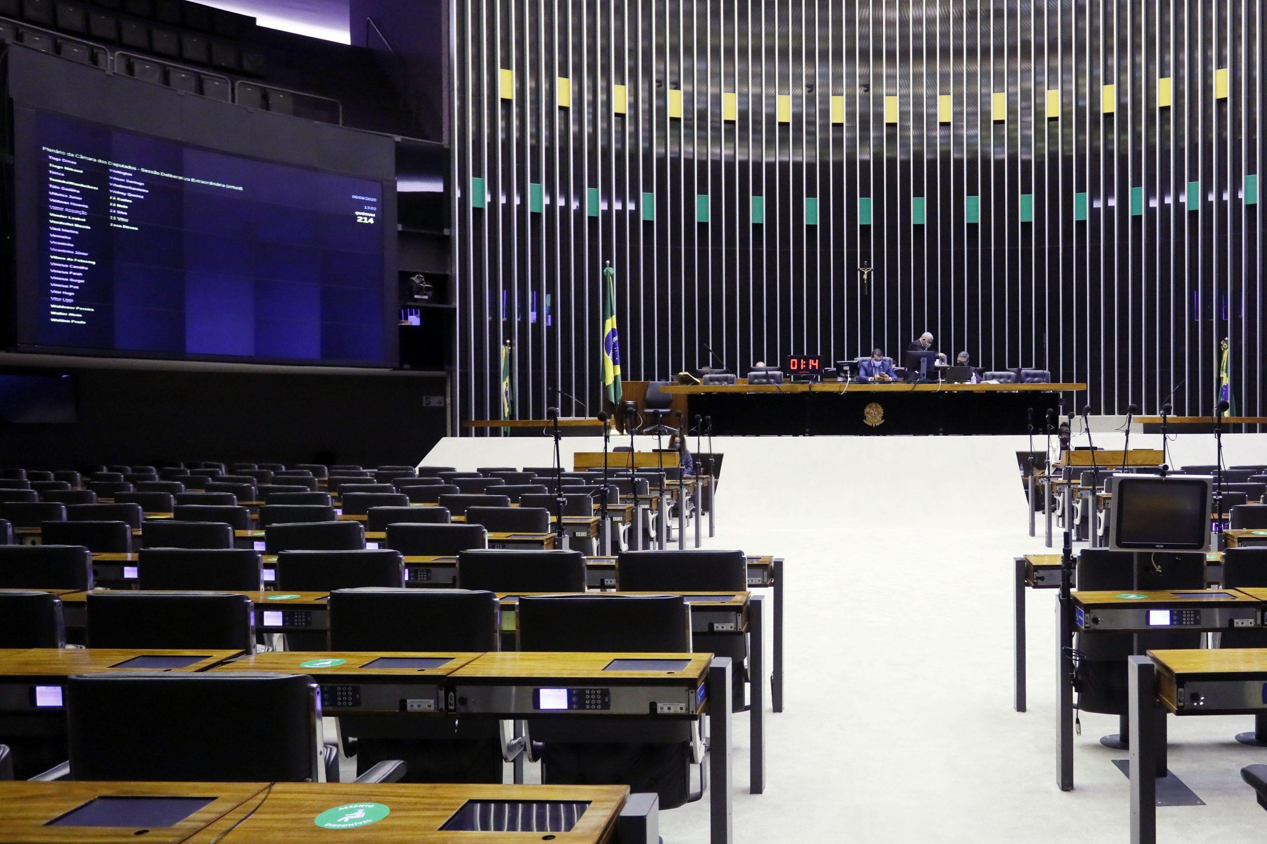 Votações na Câmara são canceladas após obstrução de partidos
