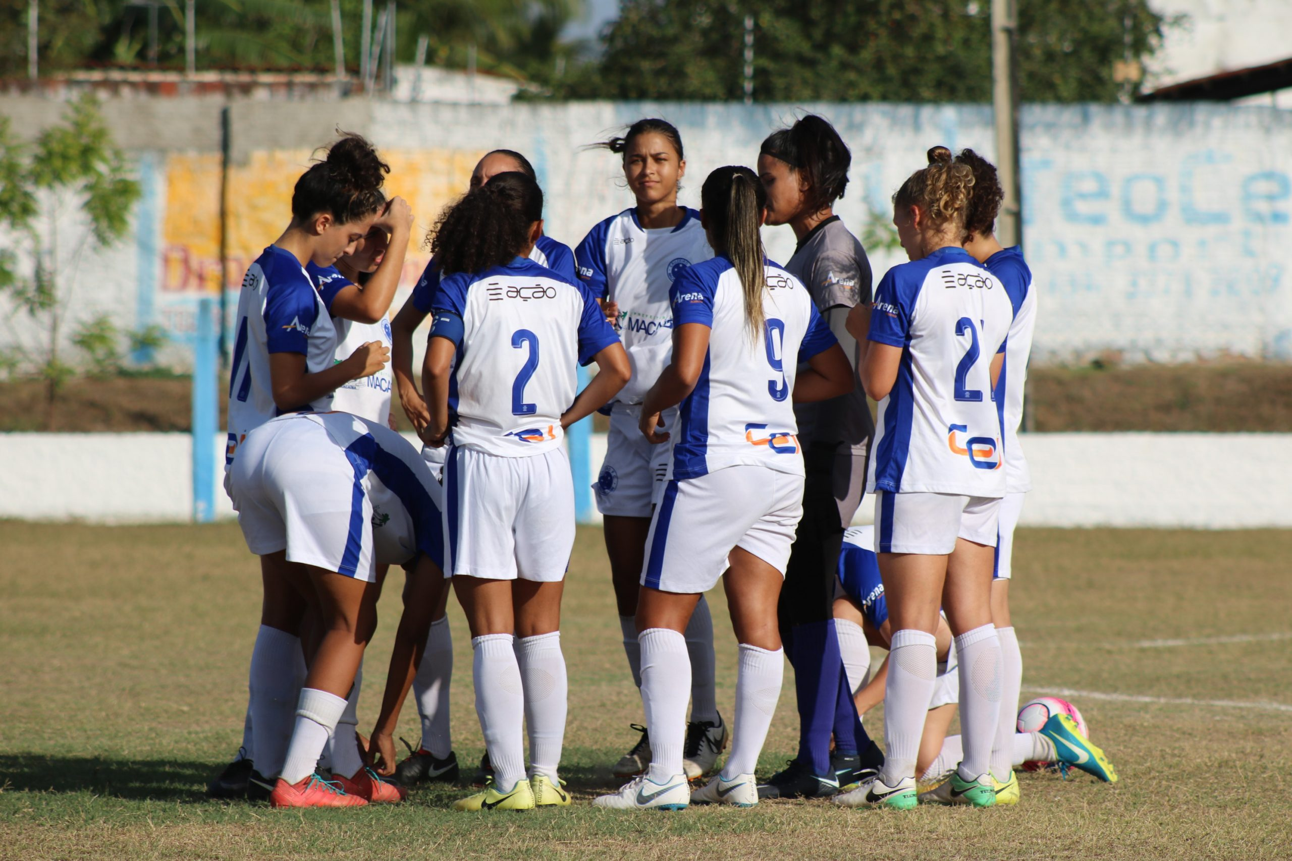 Brasileiro de futebol feminino: Cruzeiro de Macaíba empata em Alagoas