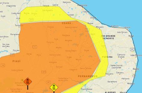 Inmet emite dois alertas de baixa umidade para 60 municípios do RN