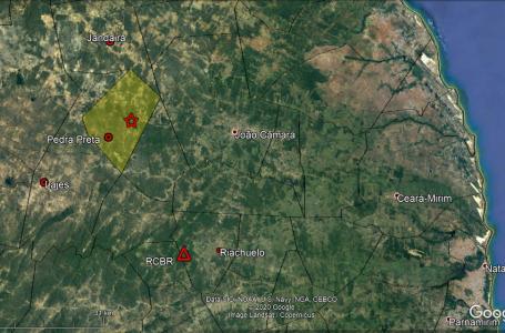 UFRN registra série de terremotos durante a madrugada em cidade do RN