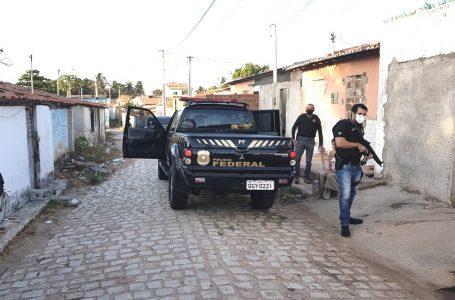 PF cumpre mandados no RN e na PB em operação de combate ao tráfico