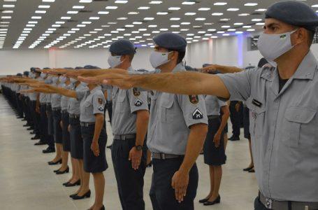 PM realiza formatura de mais de 1.000 novos soldados