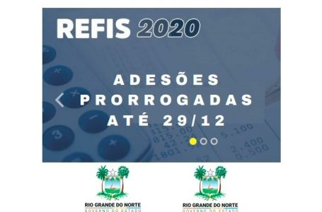 Governo do RN prorroga prazo de adesão ao Super Refis