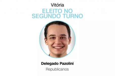 Delegado Pazolini (Republicanos) é eleito prefeito de Vitória