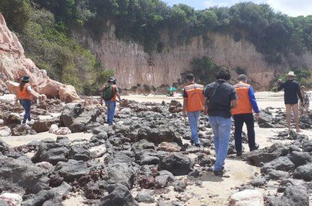 Governo do RN formaliza criação força-tarefa que visa garantir isolamento das falésias de Pipa