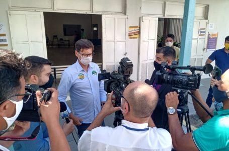 """""""Nada a declarar"""", afirma candidato Sergio Leocádio sobre agressão à equipe de jornalistas"""